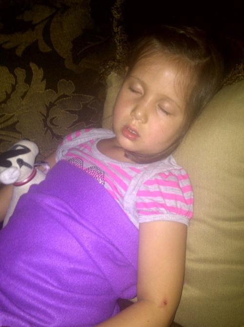 sleeping kaiya