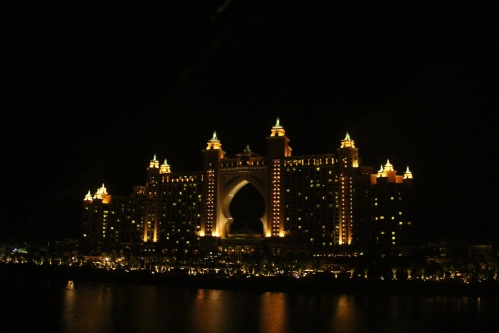 atlantis by night