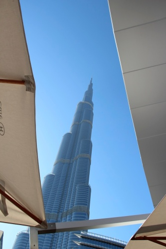 Burj Kalifa lunch spot