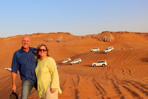 Dune traffic jam