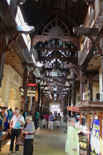 Inside old souq
