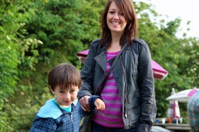 Owen and Becky.