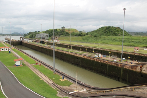 The famous Panama Canal.